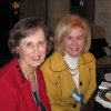 FUN AND FRIENDSHIP .... Mary Stephenson and Linda Rogers were at the party. (Photo provided).