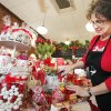 Teresa Wall preparing for Valentine\'s Day at 42nd Street Candy, Tuesday, February 7, 2012. Photo by David McDaniel, The Oklahoman