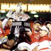 The Big 12 football championship trophy currently resides in Norman, despite what the Texas Longhorns think. PHOTO BY BRYAN TERRY, THE OKLAHOMAN