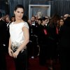 Sandra Bullock arrives before the 84th Academy Awards on Sunday, Feb. 26, 2012, in the Hollywood section of Los Angeles. (AP Photo/Matt Sayles) ORG XMIT: OSC307