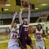 Edmond\'s Alie Decker (22) pulls in a rebound over Norman\'s Bethany Cox (24) and Kim Hayes (13) during the girls high school basketball game between Norman High School and Edmond Memorial High School on Tuesday, Nov. 30, 2010, in Norman, Okla. Photo by Chris Landsberger, The Oklahoman ORG XMIT: KOD