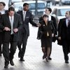 NFL attorney Mary Jo White, center, arrives with a team of attorneys for appeal hearings in the league\'s bounty investigation of the New Orleans Saints football team, Monday, Dec. 3, 2012, in New Orleans. (AP Photo/The Times-Picayune, Ted Jackson) MAGS OUT; NO SALES; USA TODAY OUT