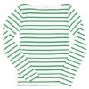 The quest for the perfect stripped boatneck T-shirt inspired Julia Leach, former creative director for Kate Spade, to launch her Chance line at Barneys New York. (Los Angeles Times/MCT)