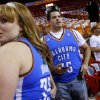 during Game 4 of the NBA Finals between the Oklahoma City Thunder and the Miami Heat at American Airlines Arena, Tuesday, June 19, 2012. Photo by Bryan Terry, The Oklahoman