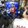 Photo - Alabama quarterback AJ McCarron speaks to the media during an NCAA college football news conference on Friday Dec. 27, 2013, in New Orleans. Alabama faces Oklahoma in the Sugar Bowl on Thursday, Jan. 2, 2014. (AP Photo/AL.com, Vasha Hunt) MAGS OUT