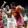 Iowa State\'s Will Clyburn (21) drives on Baylor\'s A.J. Walton (22) in the first half of an NCAA college basketball game, Wednesday, Feb. 20, 2013, in Waco, Texas. (AP Photo/The Waco Tribune-Herald, Michael Bancale)