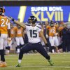 Seattle Seahawks\' Jermaine Kearse (15) reacts to a first down during the first half of the NFL Super Bowl XLVIII football game against the Denver Broncos Sunday, Feb. 2, 2014, in East Rutherford, N.J. (AP Photo/Matt Slocum)