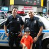 Chatting it up with NYC\'s finest
