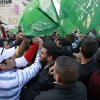 Palestinian Fatah and Hamas supporters scuffle during a march against Israel\'s military operations in Gaza Strip, in the West Bank city of Ramallah, Friday, Nov. 16, 2012. (AP Photo/Majdi Mohammed)