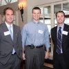 Photo -  Chay Kramer, Mark Pogemiller and Lance Leffel attend a kick off reception for the 2012 Red Bud race board members.
