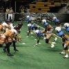 Photo of Orlando\'s lingerie football team. Used with permission of OrlandoSentinel.com