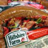 Photo - Hillshire Farm packaged sausage is displayed at a supermarket in Middleton, Mass., Monday, June 9, 2014. Tyson Foods Inc. has won a bidding war for Hillshire Brands, the maker of Jimmy Dean sausages and Ball Park hot dogs, with a $63 per share offer. (AP Photo/Elise Amendola)