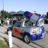 Red Bull car during the Red Bull King of the Rock 1-on-1 basketball tournament at The Cage in downtown Oklahoma City Saturday, July 12, 2014. Photo by Doug Hoke, The Oklahoman