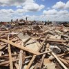 Tornado aftermath cleanup east of Piedmont, Wednesday, May 25, 2011. Photo by David McDaniel, The Oklahoman