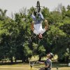 Members of the United Freestyle Stunt Team preform during the Yukon Freedom Fest at the Yukon City Park on Thursday , July 4, 2013, in Yukon, Okla. Photo by Chris Landsberger, The Oklahoman