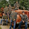 "Photo - Local firefighters, from left, Trent Wood, Bo Cocannouer, Justin Howard, Brian Magee, Caleb Swickey and Chris Walls are behind a show called ""Fired Up Outdoors."" Photo by Chris Landsberger, The Oklahoman"