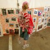 Emily Johnson, 10, shops for prints at Art Mart at the Festival of the Arts in Oklahoma City, Oklahoma April 24, 2009. Photo by Steve Gooch, The Oklahoman