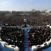 President Barack Obama gives his inaugural address at the U.S. Capitol in Washington, Tuesday, Jan. 20, 2009, after being sworn in as the president of the United States. (AP Photo/Win McNamee, Pool)