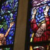 Colorful stained-glass windows tell a sacred story in the sanctuary at St. Elijah Orthodox Christian Church, 15000 N May. Garett Fisbeck - Garett Fisbeck