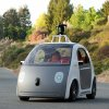 This image provided by Google shows a very early version of Google\'s prototype self-driving car. The two-seater won\'t be sold publicly, but Google on Tuesday, May 27, 2014 said it hopes by this time next year, 100 prototypes will be on public roads. (AP Photo/Google)