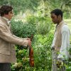 "Photo - This film publicity image released by Fox Searchlight shows Benedict Cumberbatch, left, and Chiwetel Ejiofor in a scene from ""12 Years A Slave."" The film, by director Steve McQueen, is being hailed a masterpiece and a certain Oscar heavyweight. (AP Photo/Fox Searchlight Films, Jaap Buitendijk)"
