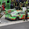 Photo - Danica Patrick pits for fuel and tires during the NASCAR Daytona 500 Sprint Cup Series auto race at Daytona International Speedway, Sunday, Feb. 24, 2013, in Daytona Beach, Fla. (AP Photo/David Graham)