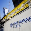 Photo -  A Time Warner Cable truck is parked in New York. Comcast has agreed to buy Time Warner Cable for $45.2 billion in stock, or $158.82 per share. AP Photo  <strong>Mark Lennihan -  AP </strong>