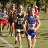 Chandler\'s Chris Lowery takes an early lead before winning the class 3A boys State cross country meet at Gordon Cooper Vo-Tech in Shawnee, OK, Saturday, October 20, 2012, By Paul Hellstern, The Oklahoman