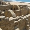 Photo -  Roman ruins abound in Caesarea, Israel. Photo courtesy of Barbara Selwitz.