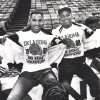 Photo - Stacey King, left, and Harvey Grant were members of the Sooners basketball team that won the Big Eight and fell just short of the national championship in 1988. Photo from The Oklahoman Archives.