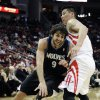 Minnesota Timberwolves\' Ricky Rubio (9), of Spain, tries to drive the ball past Houston Rockets\' Jeremy Lin, right, in the first half of an NBA basketball game Friday, March 15, 2013, in Houston. (AP Photo/Pat Sullivan)