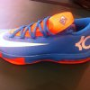 Photo - Kevin Durant's new shoe, the Nike KD VI. PHOTO BY DARNELL MAYBERRY, THE OKLAHOMAN