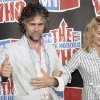 Photo - Wayne Michael Coyne, of the Flaming Lips, and wife Michelle embrace as they arrive at the VH1 Rock Honors The Who on Saturday July 12, 2008 in Los Angeles. (AP Photo/Chris Pizzello) ORG XMIT: CADC111