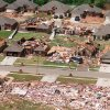 Tornado damage: Moore Tornado aerial photos.
