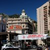 Photo - This May 13, 2013 photo shows the route for the Grand Prix race in Monaco. The race is held each May but you can walk the route any other time of year; it's about 2 miles long, with maps available at the Monaco tourism center. The route takes you past the Monte Carlo Casino, along the coast and around the famous hairpin turn in front of the Fairmont hotel. (AP Photo/Michelle Locke)