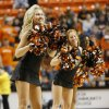 The OSU pom squad dances during a men\'s college basketball between Oklahoma State University and Missouri State at Gallagher-Iba Arena in Stillwater, Okla., Saturday, Dec. 8, 2012. OSU won, 62-42. Photo by Nate Billings, The Oklahoman