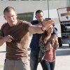 Photo -  From left, Philip Winchester, Sullivan Stapleton and Amy-Leigh Hickman - Photo by Liam Daniel/Cinemax