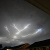 Lightning from last nights storms. Taken in SW OKC October 5, 2014. by Jessika Kropf #newsoknow #Weather