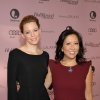 IMAGE DISTRIBUTED FOR THE HOLLYWOOD REPORTER - Actress Elizabeth Banks, left, and The Hollywood Reporter editorial director Janice Min arrive at The Hollywood Reporter\'s 21st Annual Women in Entertainment Power 100 breakfast presented by Lifetime on Wednesday, Dec. 5, 2012 in Beverly Hills, Calif. (Photo by John Shearer/Invision for The Hollywood Reporter/AP Images)
