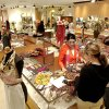 Shoppers in Balliet\'s store at 50 Penn Place office tower and shopping center. Staff photo by Jim Beckel.