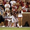 Damien Williams (26) scores on a long rushing play during the second half of the college football game between the University of Oklahoma Sooners (OU) and Florida A&M Rattlers at Gaylord Family—Oklahoma Memorial Stadium in Norman, Okla., Saturday, Sept. 8, 2012. Photo by Steve Sisney, The Oklahoman