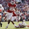 OU receiver Ryan Broyles tops The Oklahoman\'s list of top players in the Big 12 for the 2010-11 season. PHOTO BY CHRIS LANDSBERGER, THE OKLAHOMAN