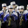 Edmond North band performs before a high school football game between Edmond North and Midwest City at Wantland Stadium in Edmond, Thursday, October 25, 2012. Photo by Bryan Terry, The Oklahoman