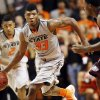 OSU\'s Marcus Smart (33) dribbles the ball during a men\'s college basketball between Oklahoma State University and Missouri State at Gallagher-Iba Arena in Stillwater, Okla., Saturday, Dec. 8, 2012. Photo by Nate Billings, The Oklahoman