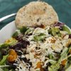 Healthy meals from leftovers like mixed green salad from registered dietician Becky Varner. DOUG HOKE - THE OKLAHOMAN