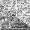 Historic aerial photos allow field inspectors at the Oklahoma Corporation Commission to pinpoint oil and natural gas wells. This photo shows the area around the state Capitol in Oklahoma City in 2010, at left, and 1941.