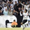 Photo - Corinthians's Jadson celebrates after scoring against Botafogo during a Brazilian soccer league match at the Itaquerao stadium, that will host the World Cup opener match between Brazil and Croatia on June 12, in Sao Paulo, Brazil, Sunday, June 1, 2014. (AP Photo/Andre Penner)