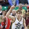 Photo - Utah Jazz's Gordon Hayward (20) runs up the court after scoring against the Houston Rockets in the first quarter of an NBA basketball game Monday, Dec. 2, 2013, in Salt Lake City. (AP Photo/Rick Bowmer)