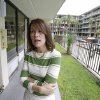 In this Tuesday, April 8, 2014 photo, hotel owner Dianna Chane at her extended stay hotel in Kissimmee, Fla., can\'t get local law enforcement to help her evict tenants that don\'t pay for rooms. (AP Photo/John Raoux)