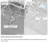 Photo - This third page of a four page document released by the U.S. State Department in Washington, July 27, 2014, shows a satellite image that purports to shows a before and after close-up of the artillery strike depicted in the lower portion of the inset in the previous graphic. The United States says the images back up its claims that rockets have been fired from Russia into eastern Ukraine and heavy artillery for separatists has also crossed the border. (AP Photo/U.S. State Department)